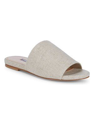 Charles David Textured Wide-Strap Slides
