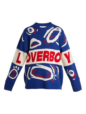 CHARLES JEFFREY LOVERBOY Out and Raging wool sweater