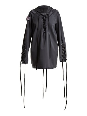 CHARLI COHEN Renegade lace-up shell jacket
