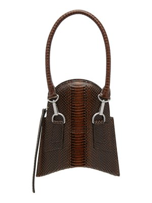 Charlotte Knowles embossed fang bag