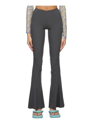 Charlotte Knowles grey drd trousers