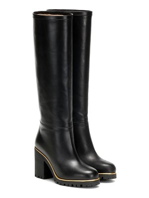 Charlotte Olympia barbara leather knee-high boots