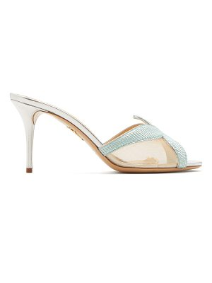 Charlotte Olympia Esther Starfish sequin-embellished mesh mules