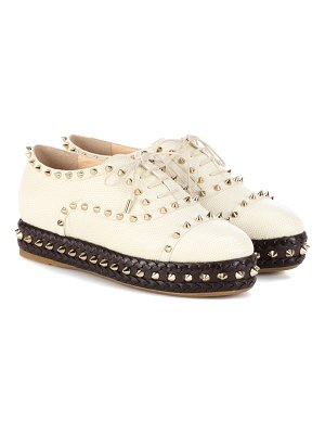 Charlotte Olympia hoxton leather sneakers