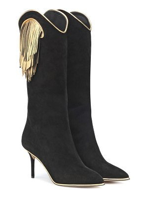 Charlotte Olympia Magnifico suede boots