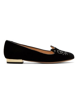 Charlotte Olympia Peace Kitty Loafers