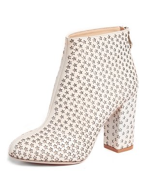 Charlotte Olympia sparkling star booties