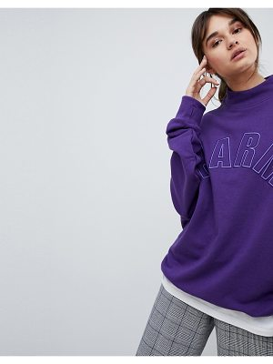 Charms Charm's High Neck Logo Sweat