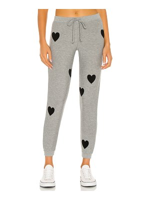 Chaser cozy knit cuffed drawstring jogger