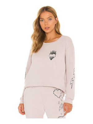 Chaser heart pullover