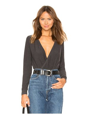 Chaser Long Sleeve Surplice Pullover Sweater