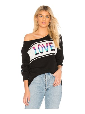 Chaser Love Crew Neck Pullover