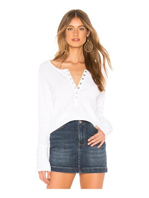 Chaser Snap Front Shirttail Henley