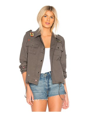 Chaser Vintage Canvas Military Jacket