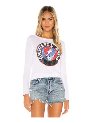 Chaser x revolve grateful dead steal your face vintage jersey tee