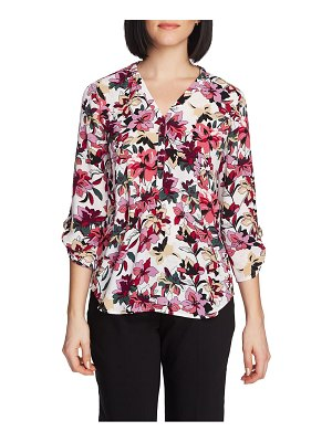 Chaus aurora petal v-neck top