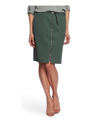 Chaus belted pencil skirt