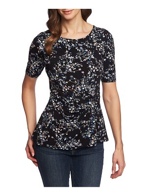 Chaus botanical soiree side knot top