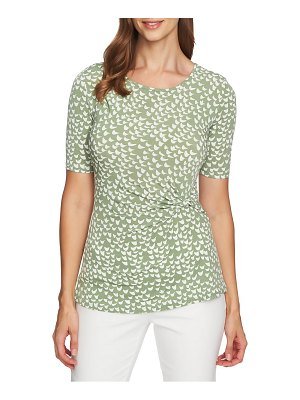 Chaus palm groves side knot top