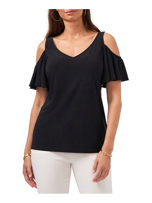 Chaus ruffle off the shoulder top