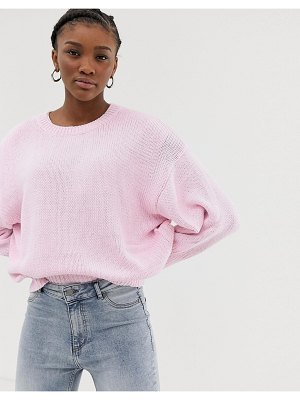 Cheap Monday against knit sweater