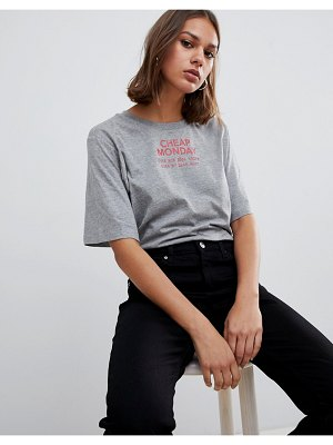 Cheap Monday perfect logo t-shirt