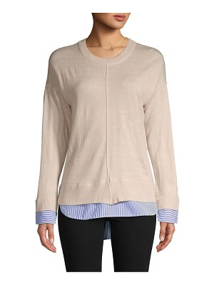 Chelsea & Theodore Knit Pullover Sweater