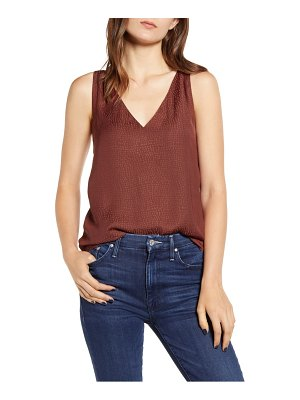 Chelsea28 cross back jacquard camisole