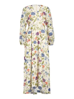 Chelsea28 floral long sleeve maxi dress