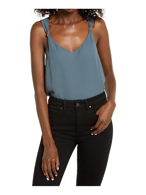 Chelsea28 knot strap crop top