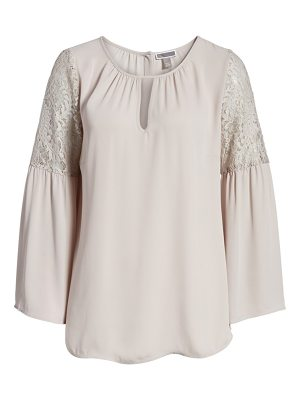 Chelsea28 lace bell sleeve top