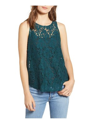 Chelsea28 lace tank top