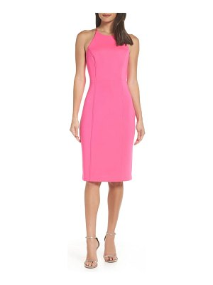 Chelsea28 scuba sheath dress