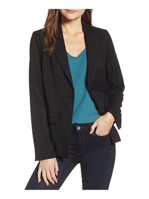 Chelsea28 single button blazer