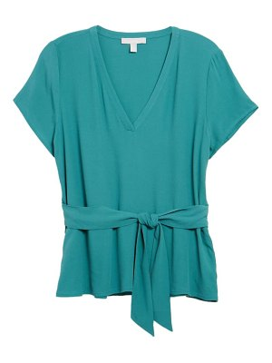 Chelsea28 tie front v-neck top