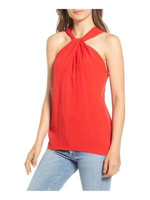 Chelsea28 twist front sleeveless top