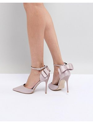 Chi Chi London bow back heels