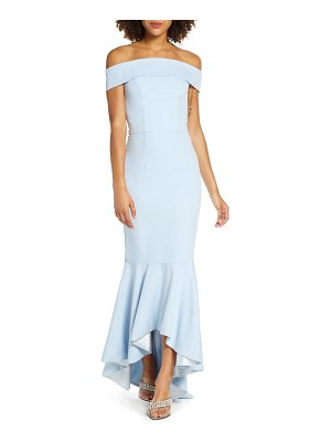 Chi Chi London cali off the shoulder mermaid gown