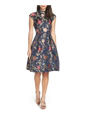 Chi Chi London floral print party dress