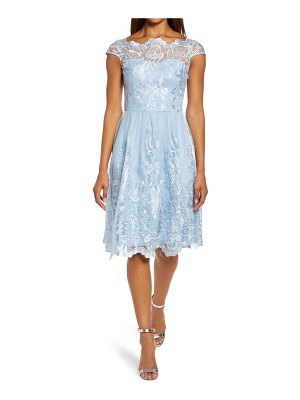 Chi Chi London lace skater cocktail dress