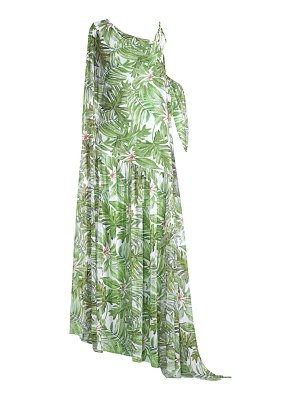 Chiara Boni La Petite Robe aja illusion palm-print maxi dress