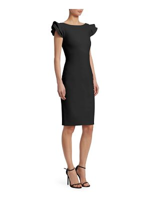 Chiara Boni La Petite Robe cedric ruffle sleeve dress