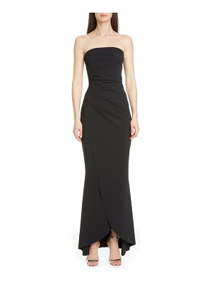 Chiara Boni La Petite Robe chiharu strapless high/low gown