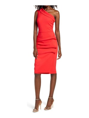 Chiara Boni La Petite Robe jessie one-shoulder ruched cocktail dress