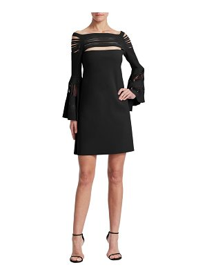 Chiara Boni La Petite Robe karie bell-sleeve dress