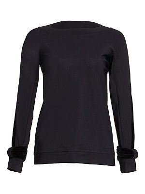 Chiara Boni La Petite Robe moira long-sleeve top