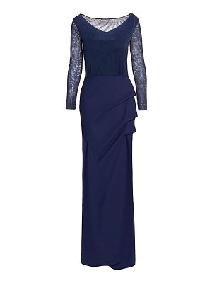 Chiara Boni La Petite Robe nova beaded illusion gown
