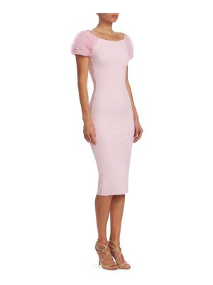 Chiara Boni La Petite Robe ruffle sleeve dress