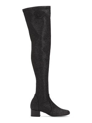 Chiara Ferragni 30mm glittered over the knee boots