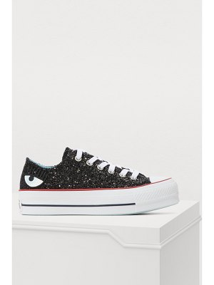 Chiara Ferragni Converse sequined denim sneakers